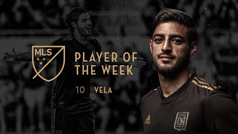 LAFC Forward Carlos Vela Voted MLS Player Of The Week 190826 IMG
