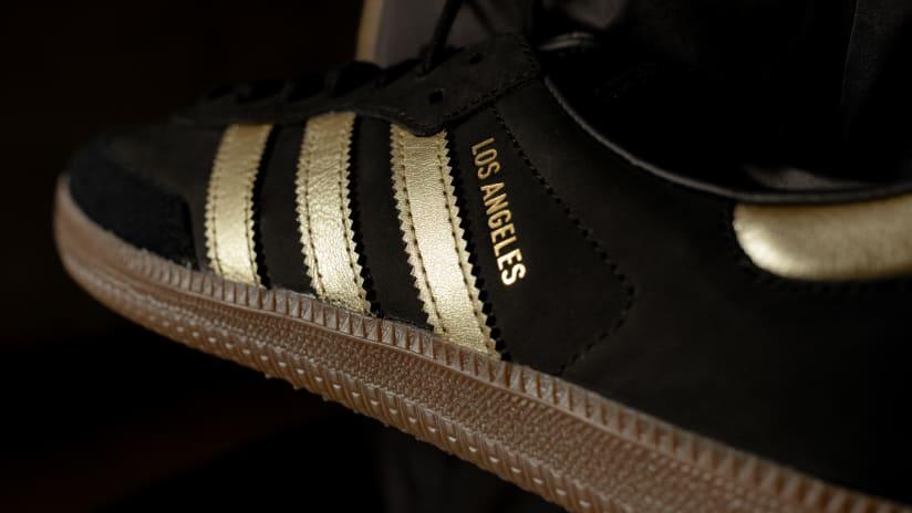 LAFC & Adidas Originals Reveal Two Limited Edition Black & Gold Sambas