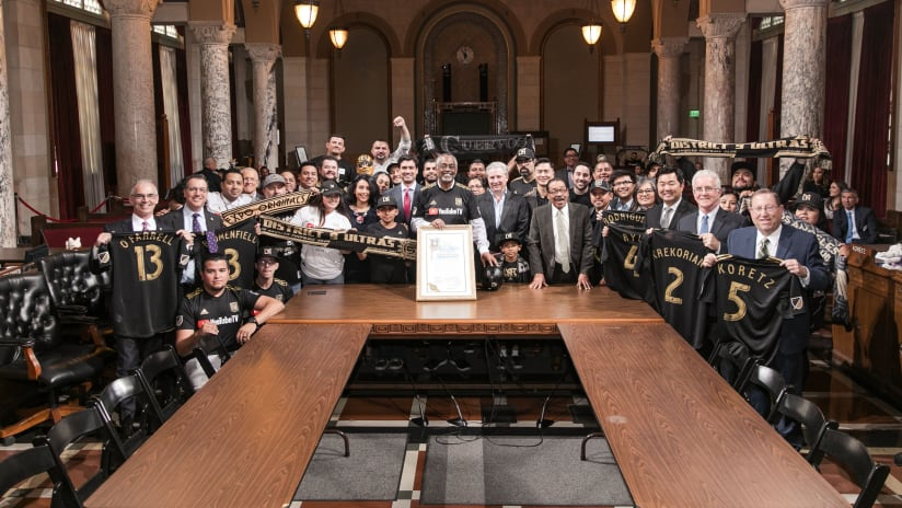 """LAFC To Celebrate """"LAFC Day"""" On April 27 With Upcoming Food Drive"""