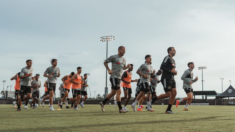 News & Notes From Training | Hot & Humid - 7/10/20