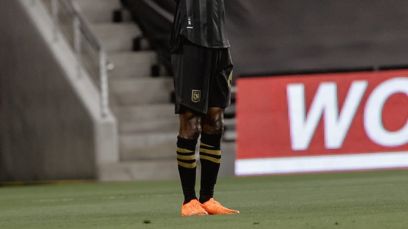 Bradley Wright-Phillips Celebrates Goal Arms Up LAFC vs SJ 200902 IMG