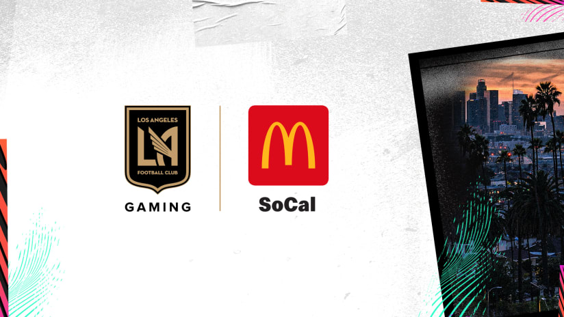 LAFC Gaming Announces Partnership With McDonald's HALF 210202 IMG