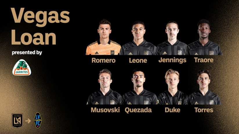 LAFC Loans Eight Players To Las Vegas Lights FC For Upcoming Match Against Tacoma Defiance