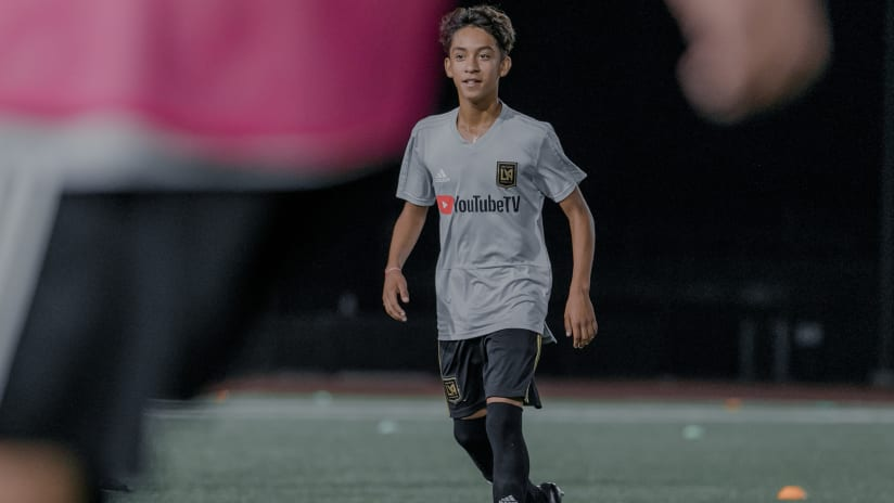 Academy: Duenas Ready For Generation Adidas Cup Return With LAFC