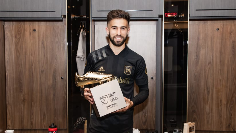 Diego Rossi Recognized By L.A. Sports Council For Standout 2020 Season