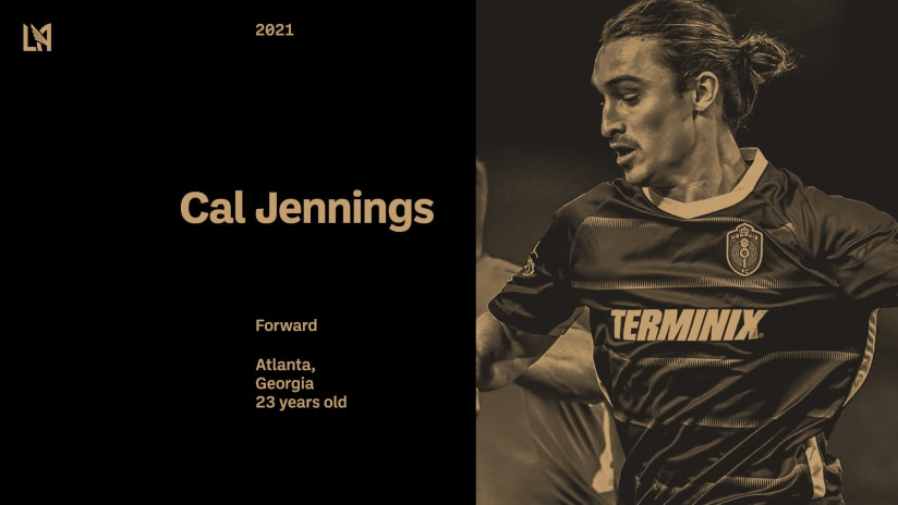 LAFC Acquires 23-Year-Old Forward Cal Jennings