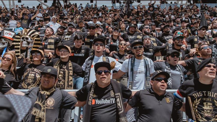 Supporters In North End At LAFC Open House 2018 IMG