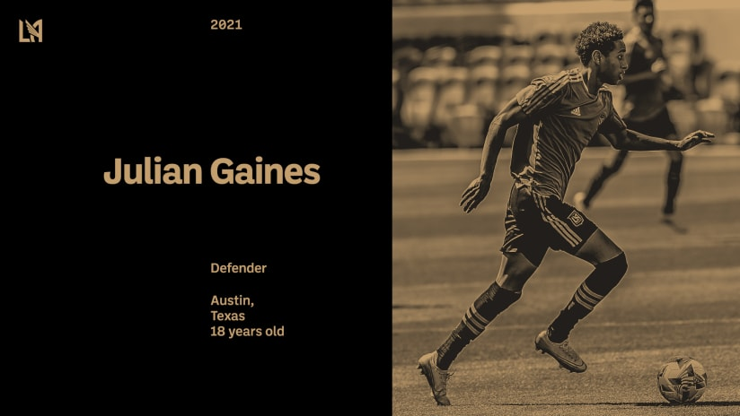 LAFC Signs Julian Gaines Using No. 1 Spot In MLS Waiver Order