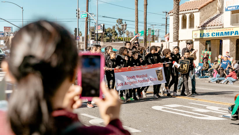 LAFC In The Community: Toy Drive, XMas Parade & CicLAvia