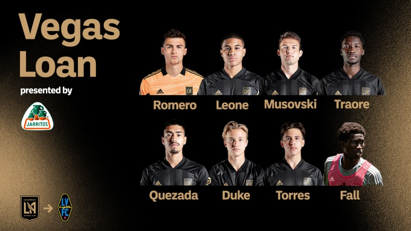 LAFC Loans Eight Players To Las Vegas Lights FC For Upcoming Match Against LA Galaxy II