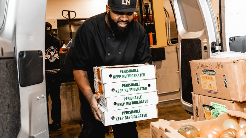 LAFC Launch The 'LAFC Food Delivery Service' Program