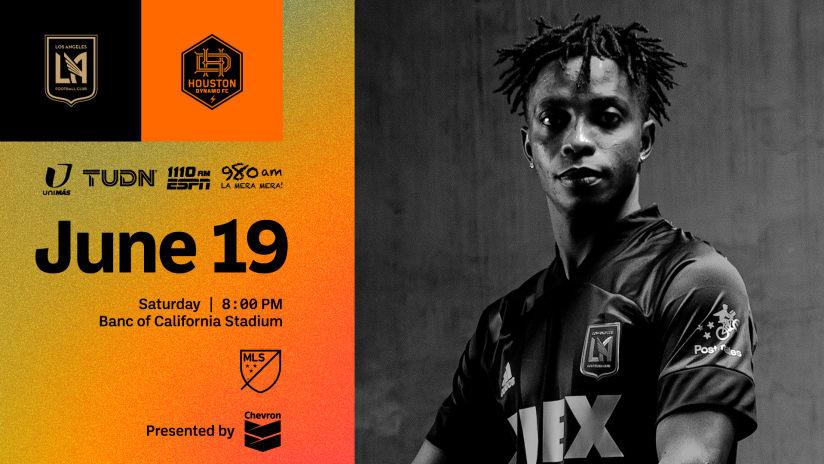 Where To Watch | LAFC vs Houston Dynamo 6/19/21
