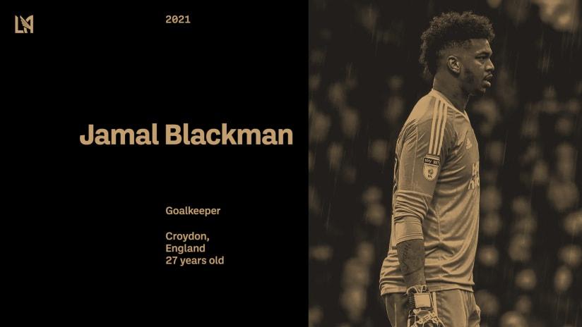 LAFC Signs English Goalkeeper Jamal Blackman