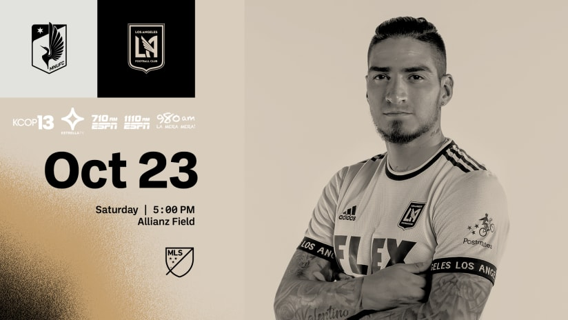 Where To Watch   LAFC at Minnesota United 10/23/21