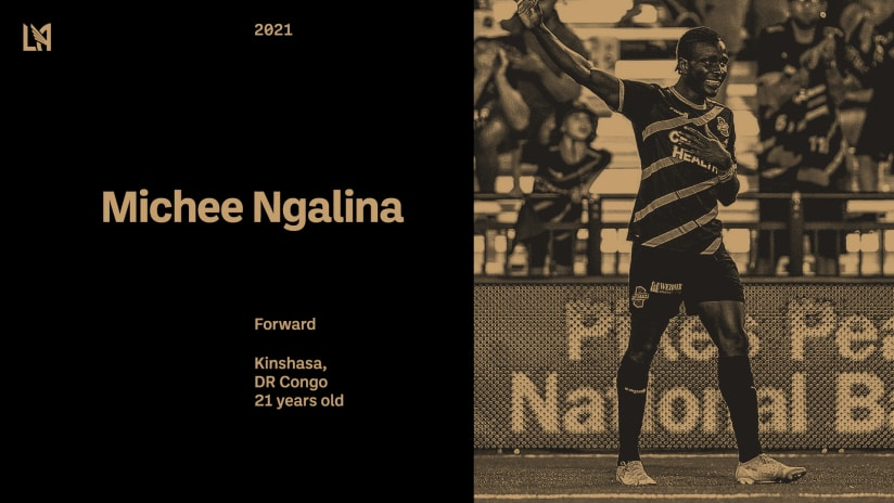 LAFC Signs 21-Year-Old Forward Michee Ngalina