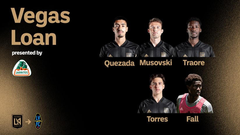LAFC Loans Five Players To Las Vegas Lights FC For Upcoming Match Against Orange County SC