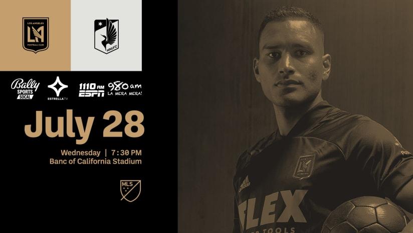Where To Watch | LAFC vs Minnesota United 7/28/21