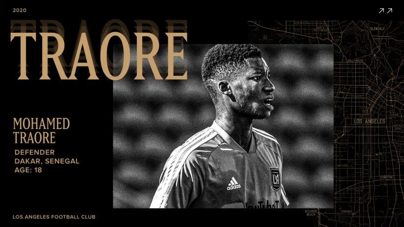 LAFC Sign Defender Mohamed Traore