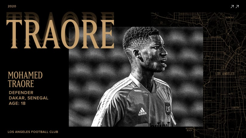 拉法克 Sign Defender Mohamed Traore