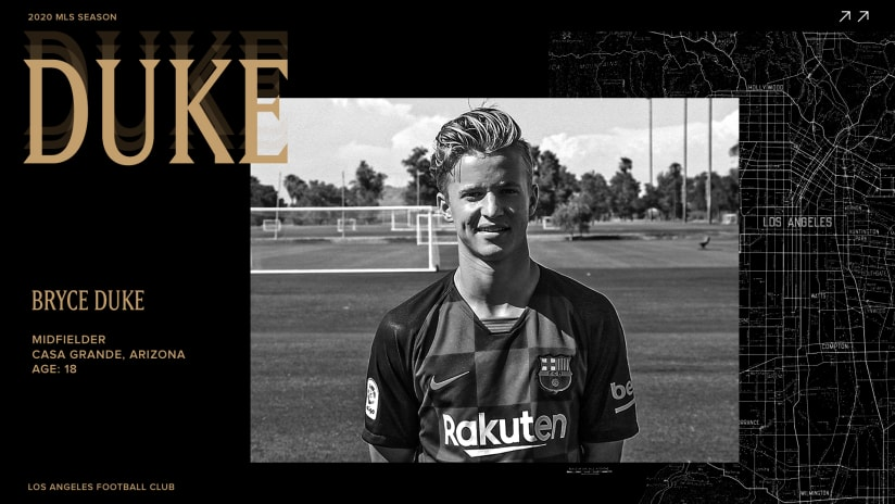拉法克 Signs 18-Year-Old Midfielder Bryce Duke