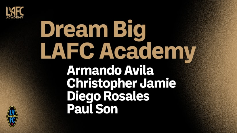 Las Vegas Lights FC Sign Four LAFC Academy Players To Academy Contracts