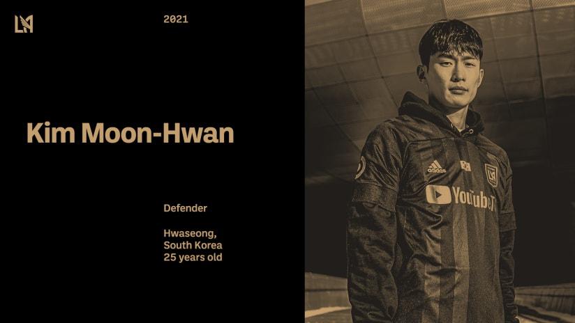 LAFC Signs Korean International Kim Moon-Hwan