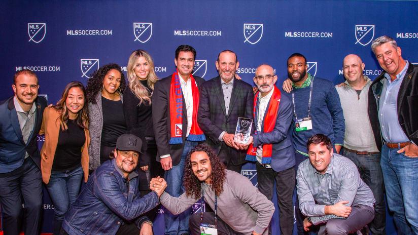 LAFC At 2019 MLS Awards 190116 IMG