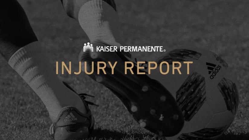 Injury Report Graphic IMG 2018
