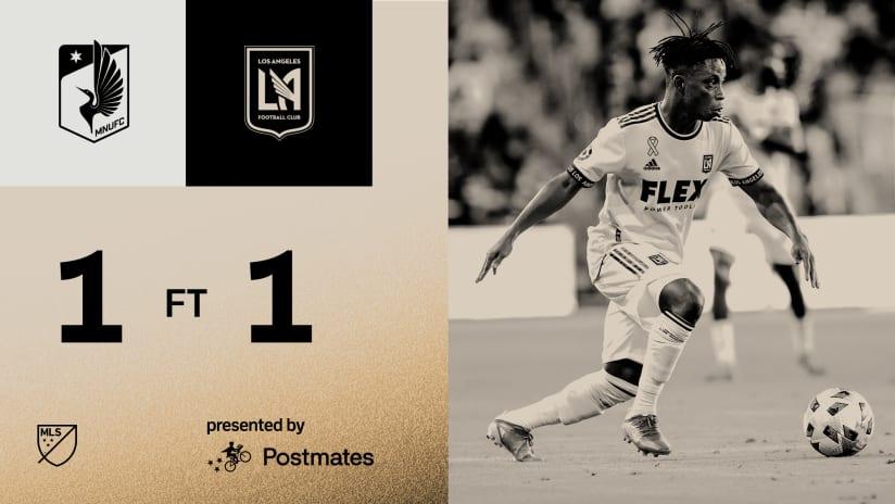 MLS Recap   LAFC 1-1 Minnesota United 10/23/21