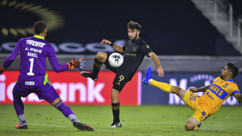Diego Rossi Scores Goal LAFC vs TIG 201222 IMG