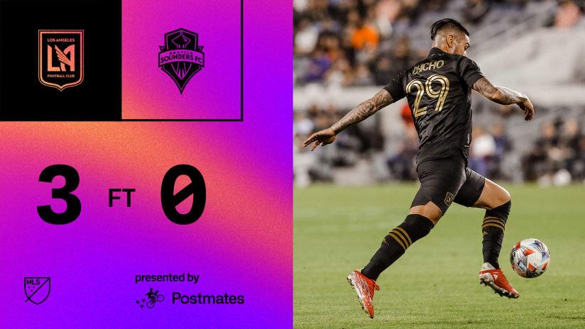 MLS Recap   LAFC 3-0 Seattle Sounders 10/26/21