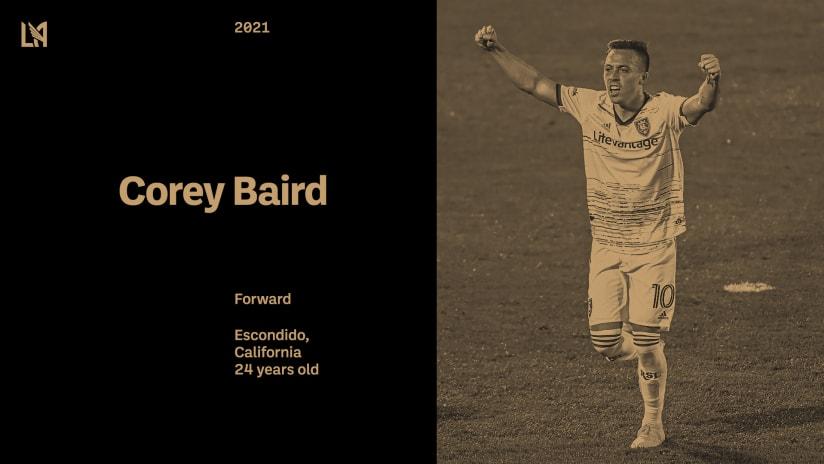LAFC Acquires U.S. International Forward Corey Baird From Real Salt Lake