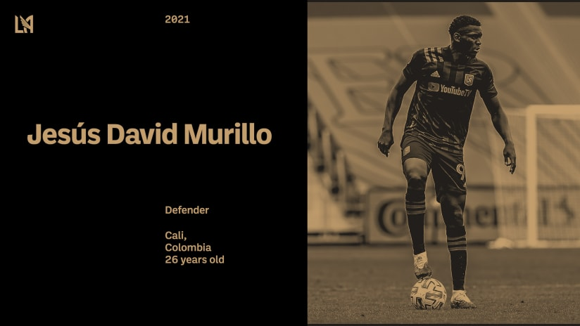 LAFC & Jesús David Murillo Agree To New Deal