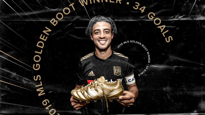 Carlos Vela Wins 2019 MLS Golden Boot HALF 191006 IMG