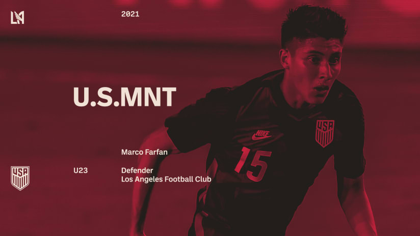 Marco Farfan U23 USMNT Call-Up Graphic Half 210226 IMG