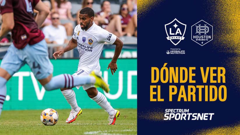 Dónde Ver el Partido: LA Galaxy vs. Houston Dynamo | 15 de septiembre de 2021