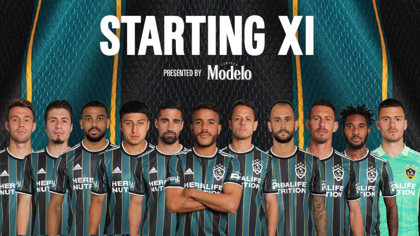 lineup inter vs. la