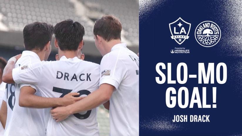 SLO-MO GOAL: Josh Drack vs. Oakland Roots SC   July 25, 2021