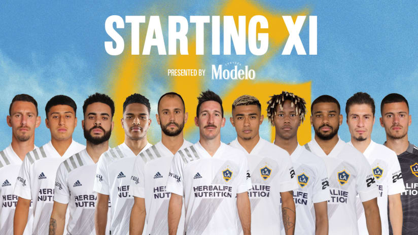 Starting XI presented by Modelo: FC Dallas vs. LA Galaxy | July 24, 2021