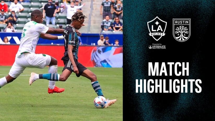 HIGHLIGHTS: LA Galaxy vs. Austin FC | May 15, 2021