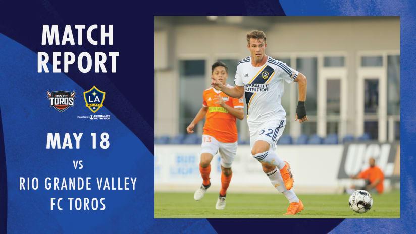Match Report vs. RGVaway