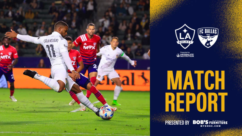 Match Report presented by Bob's Discount Furniture: LA Galaxy comeback to earn an important point vs. FC Dallas