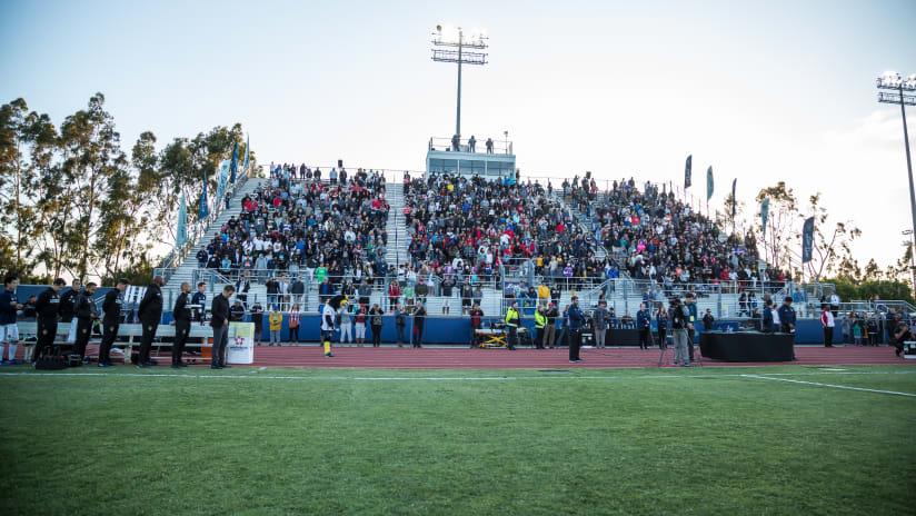 StubHub Center Track & Field Fans