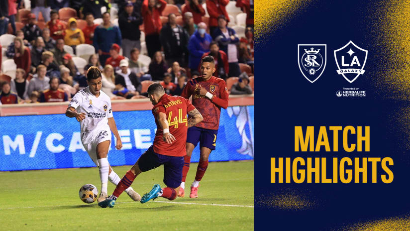 HIGHLIGHTS: Real Salt Lake vs. LA Galaxy | September 29, 2021