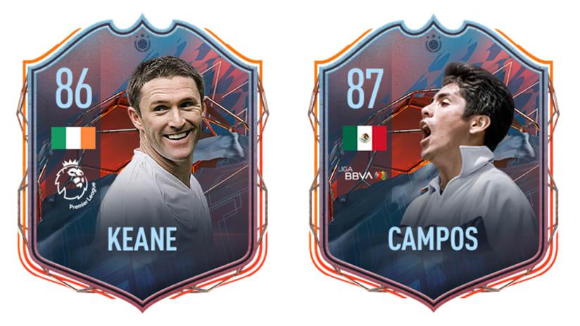 Las leyendas de LA Galaxy, Robbie Keane y Jorge Campos, agregadas a FIFA 22 FUT Heroes