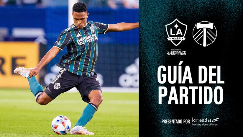 Guía de partido: LA Galaxy vs Portland Timbers | 29 de julio de 2021