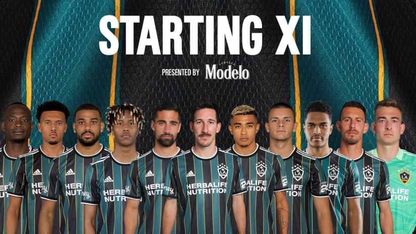 Starting XI presented by Modelo: Minnesota United FC vs. LA Galaxy | September 18, 2021