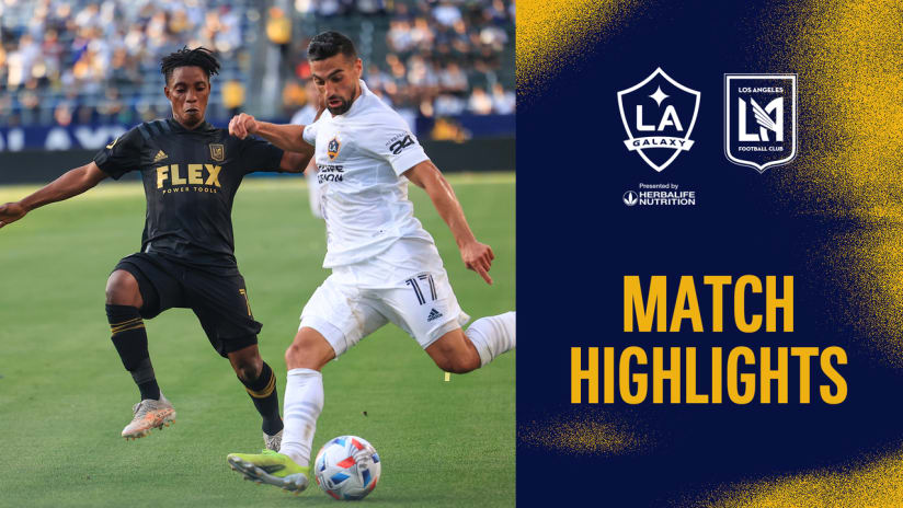 HIGHLIGHTS: LA Galaxy vs. LAFC | May 8, 2021