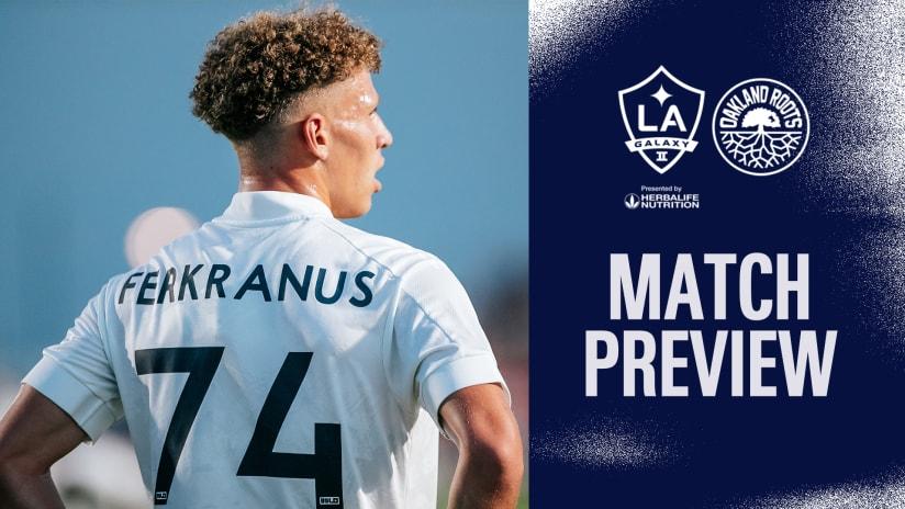 Match Preview: LA Galaxy II vs. Oakland Roots SC | July 25, 2021