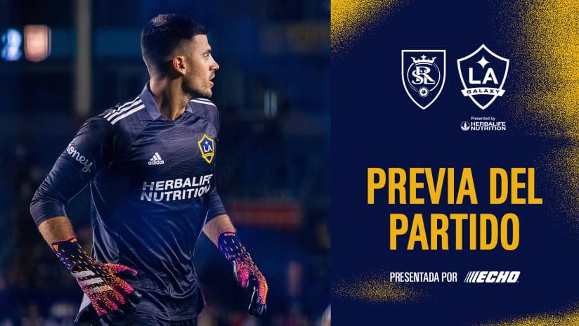 Previa del Partido presentado por ECHO Outdoor Power: Real Salt Lake vs. LA Galaxy   21 de julio de 2021